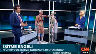 CNN TÜRK Sağlık Kontrolü Programı - İşitme cihazları